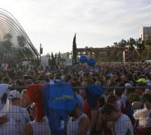 Arrivée grandiose du CMCF à Valence (Espagne) pour le 32ème Marathon Divina Pastora