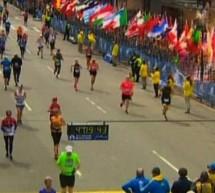 Explosion au niveau de la ligne d'arrivée du Marathon de Boston
