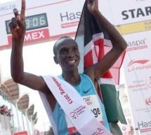 Le Kenyan Eliud Kipchoge remporte le marathon d'Hambourg