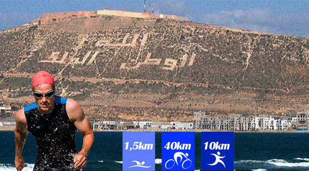 3ème Edition du triathlon d'agadir