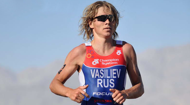 Le Russe Ivan Vasiliev champion d'Europe de triathlon